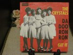 "7"" 45rm The Crystals, Da Doo Ron Ron - Git it 1963"