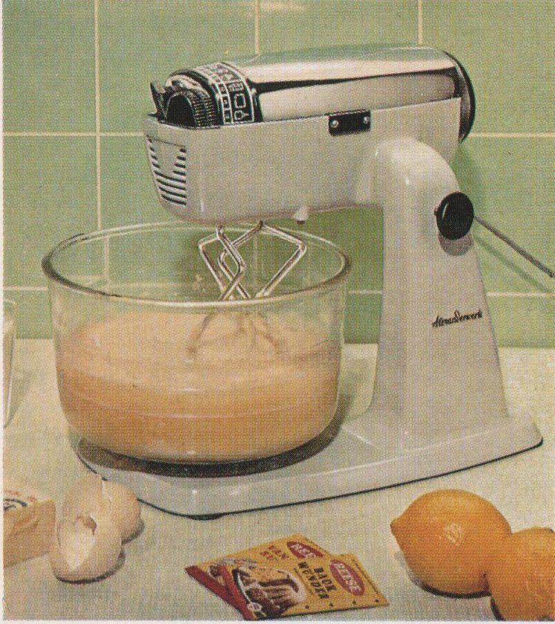 Alexanderwerk 4900 Küchenmaschine Weiß, Funktionsfähig