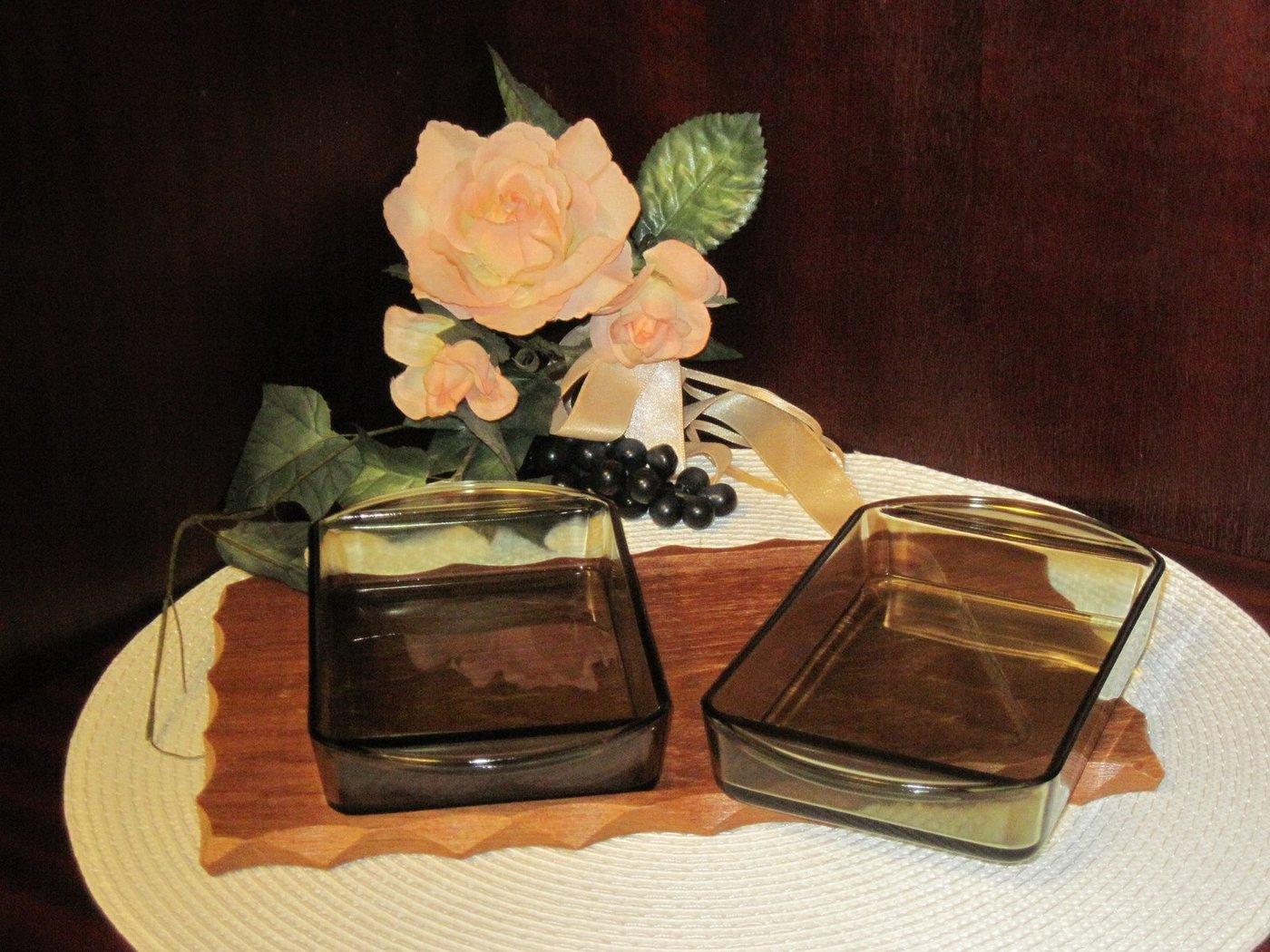 tablett teak holz mit glaseinsatz glasschale wagenfeld ra. Black Bedroom Furniture Sets. Home Design Ideas