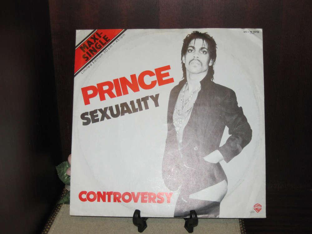 Prince Sexuality / Controversy ORIGINAL Vinyl Single